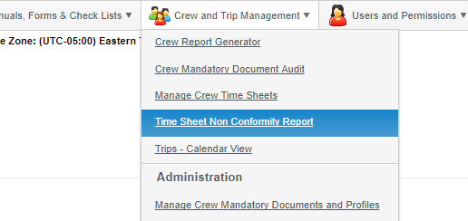 2 10 fleet wide time sheet non conformity reports managemyvessel